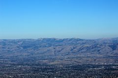Mount Umunhum View of East Side Stock Photography