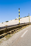 The Mount Ventoux, by Bedoin,France. The Mount Ventoux, by Bedoin, South, France Stock Photo