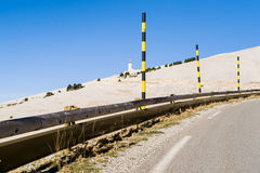 The Mount Ventoux, by Bedoin,France. The Mount Ventoux, by Bedoin, South, France Stock Images
