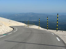 Mount Ventoux, France. The famous cycling road of Mount Ventoux, Vaucluse, France Stock Photography