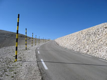 Mount Ventoux, France. The famous cycling road of Mount Ventoux, Vaucluse, France Royalty Free Stock Image