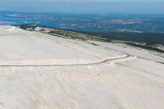 Mount Ventoux, France. Panoramic view from Mount Ventoux, France Stock Image
