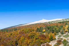 The Mount Ventoux, Vaucluse, France Stock Image