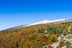 The Mount Ventoux, Vaucluse, France Royalty Free Stock Photo