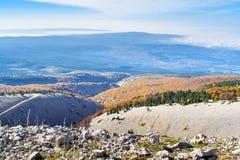 The Mount Ventoux, Vaucluse, France Stock Images