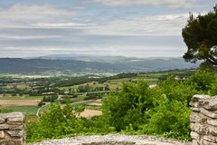 Mount Ventoux viewed from Goult Royalty Free Stock Image