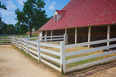 Mount Vernon Barns Royalty Free Stock Images