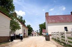 Mount Vernon a casa de George Washinton nos bancos do Rio Potomac nos EUA fotos de stock