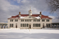 Mount Vernon Front Center Royalty Free Stock Photos