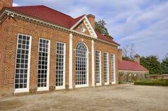 Mount Vernon greenhouse Stock Photography