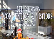 Mount Vernon Illinois gości i konwencji biuro obrazy royalty free