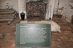 Mount Vernon la maison de George Washinton sur les banques du fleuve Potomac aux Etats-Unis images stock