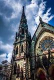 Mount Vernon miejsca Zlany kościół metodystów w Baltimore, Marylan zdjęcia royalty free