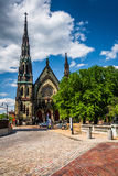 Mount Vernon Place United Methodist Church, in Baltimore, Maryla Stock Photos