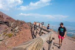 Mount Vesuvius, Италия стоковая фотография