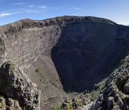Mount Vesuvius crater Royalty Free Stock Image