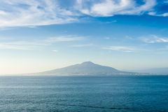 Mount Vesuvius landscape Stock Photography