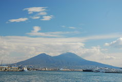 Mount vesuvius Royalty Free Stock Photos