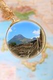 Mount Vesuvius and Pompeii Royalty Free Stock Photography
