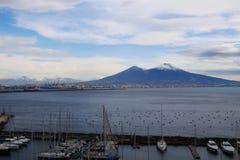 Mount Vesuvius Royalty Free Stock Photos
