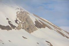 Mount Vettore Stock Photo