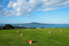 Mount Victoria in Devonport, Auckland in New Zealand Royalty Free Stock Images
