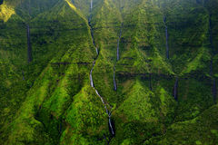 Mount Waialeale known as the wettest spot on Earth, Kauai Royalty Free Stock Image