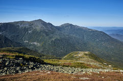 Mount Washington. Amazing and one of the kind, mount Washington scenery with White mountains of New Hamshire Royalty Free Stock Photos