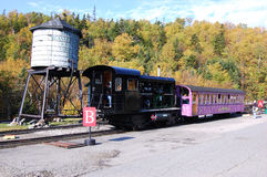 Mount Washington Cog Railroad Stock Photos