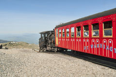 Mount Washington Cog Train Royalty Free Stock Image