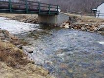 Mount Washington Entrance NH river royalty free stock photo