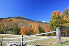 Mount Washington in Fall. With snow royalty free stock images