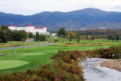 The Mount Washington Hotel Stock Image