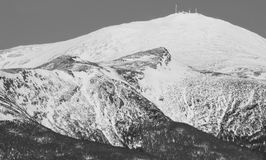 Mount Washington, New Hampshire. The greater summit of Mount Washington--nicknamed the worst weather in the world. Also holds the distinction for recording the Stock Image