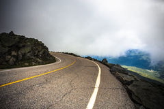 Mount Washington NH Auto Road Stock Photography