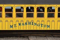 Mount Washington Passenger Car Royalty Free Stock Photo