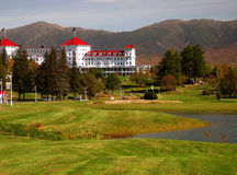 Mount Washington Resort Stock Image