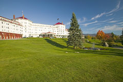 The Mount Washington Resort at Bretton Woods, New Hampshire stock photography