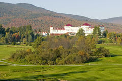 The Mount Washington Resort at Bretton Woods, New Hampshire Stock Photos