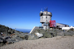 Mount Washington Weather Station Royalty Free Stock Photos