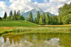 Mount Watzmann Stock Photography