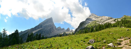 Mount Watzmann Royalty Free Stock Images