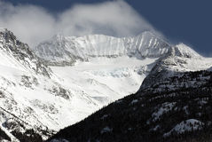 Mount Weart in Coast Mountains Royalty Free Stock Photos