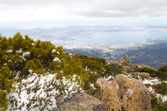 Mount Wellington Royalty Free Stock Photography