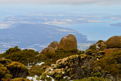 Mount Wellington Royalty Free Stock Photos