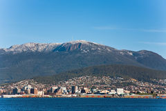 Mount Wellington in Tasmania Royalty Free Stock Photography