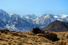 Mount Whitney Royaltyfria Bilder