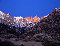 Mount Whitney 2 Stock Afbeelding