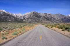Mount Whitney Arkivfoto