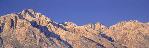 Mount Whitney Arkivfoton